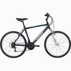 Bicicleta Caloi Sport Racer Aro 26 21 Marchas MTB - Preto