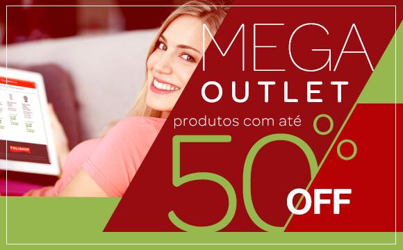 Mega Outlet com até 50% OFF