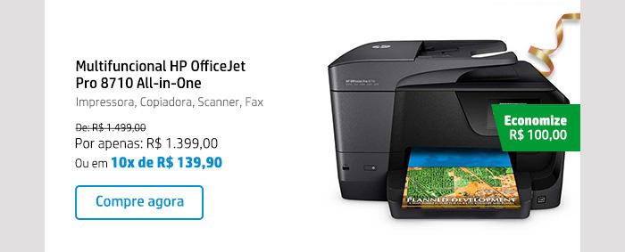 Multifuncional HP OfficeJet Pro 8710 All-in-One