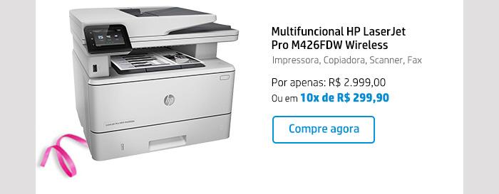 Multifuncional HP LaserJet Pro M426FDW Wireless