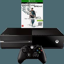 Console Xbox One 500GB + Game Quantum Break + Controle Sem Fio - Microsoft