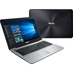 Notebook Asus X555LF Intel Core i5 6GB (2GB de Memória Dedicada) 1TB 15.6 Windows 10 - Preto