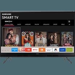 Smart TV LED 49 Samsung UN49K5300AGXZD Full HD com Conversor Digital Integrado Wi-Fi 2 HDMI 1 USB com Tizen Gamefly Áudio Frontal