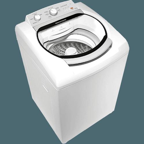 Lavadora de Roupas Brastemp 11kg BWS11 Cesto Smart Wave - Branco