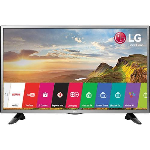 Smart TV LED 32 LG 32LH570B HD com Conversor Digital 2 HDMI 1 USB Wi-Fi com Miracast e WiDi 60Hz