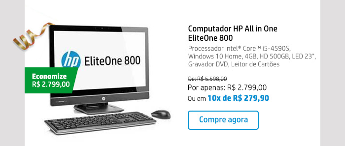 Computador HP All in One EliteOne 800