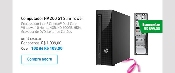 Computador HP 200 G1 Slim Tower