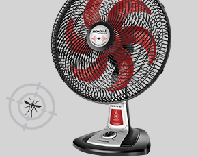 Ventilador Com Repelente Turbo Silêncio 40 Cm Mondial Excellence