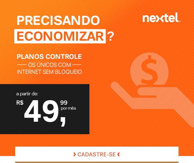 Precisando economizar? Planos controle - Os únicos com internet sem bloqueio. A partir de: R$ 49,99 por mês. Cadastre-se!