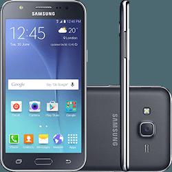 Smartphone Samsung Galaxy J5 Duos Dual Chip Android 5.1 Tela 5 16GB 4G Wi-Fi Câmera 13MP - Preto