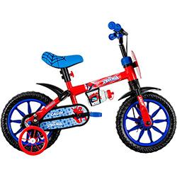 Bicicleta Infantil Caloi Homem Aranha Aro 12 Masculina