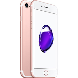 iPhone 7 128GB Ouro Rosa Tela 4.7 iOS 10 4G Câmera 12MP - Apple