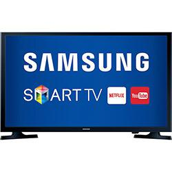 Smart TV LED 32 Samsung UN32J4300AG HD com Conversor Digital 2 HDMI 1 USB Wi-Fi 120Hz