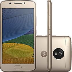 Smartphone Moto G 5 Dual Chip Android 7.0 Tela 5 32GB 4G Câmera 13MP - Ouro