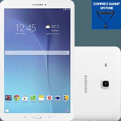 Tablet Samsung Galaxy Tab E T561M 8GB Wi-Fi + 3G Tela 9.6 Android 4.4 Quad-Core - Branco