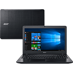 Notebook Acer F5-573-521B Intel Core i5 8GB 1TB Tela 15.6 Windows 10 - Preto