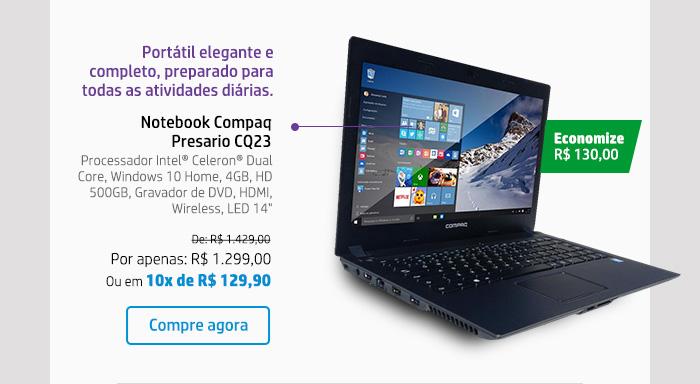 Notebook Compaq Presario CQ23