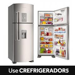 Refrigerador Duplex Brastemp Ative! Frost Free Evox 429L BRW50NK
