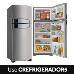 Refrigerador Consul Duplex Bem Estar Frost Free Evox Platinum 405L CRM51