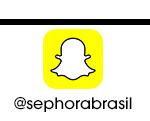 Snapchat | @sephorabrasil