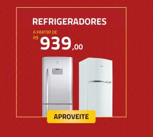 Refrigeradores a partir de R$939