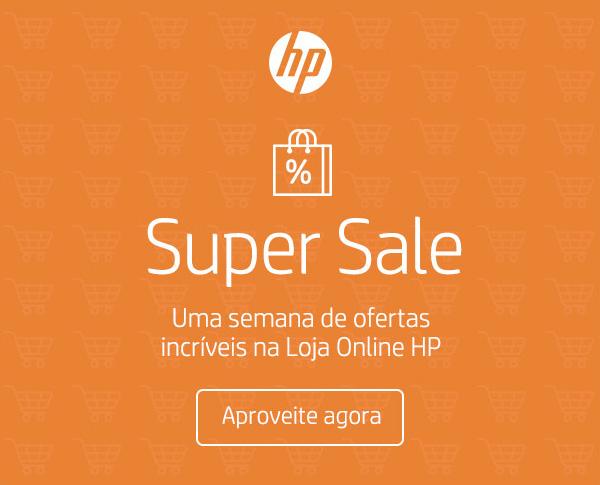 HP. Super Sale. Uma semana de ofertas incríveis na Loja Online HP. Aproveite agora