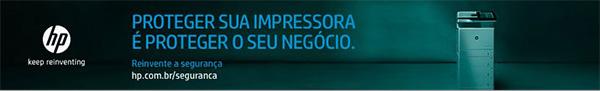 HP Keep Reinventing. Proteger sua impressora é proteger o seu negócio. Reinvente a segurança. www.hp.com.br/seguranca