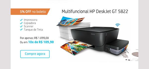 Multifuncional HP DeskJet GT 5822