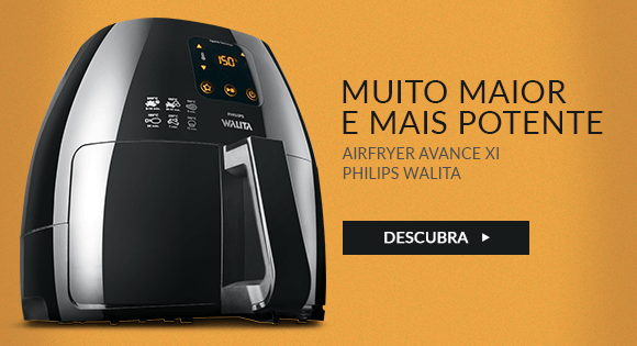 Fritadeira Elétrica Airfryer Avance Xl Philips Walita + Livro Prove E Aprove