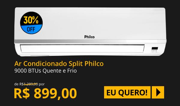 Ar Condicionado Philco Split Hi Wall 9000 BTUs Quente/Frio 220V PH9000QFM5