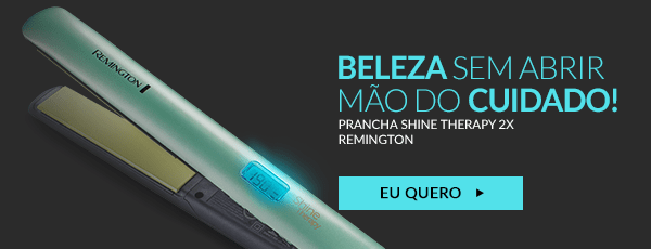 Prancha Shine Therapy 2x Remington